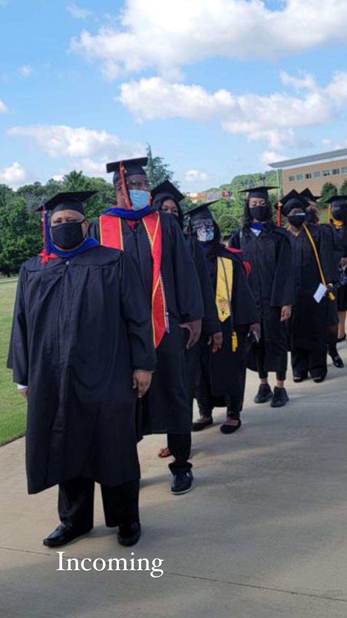B-Red's Father, Senator Ademola Adeleke Bags Degree In American University [Photos/Video] 2