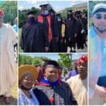 B-Red's Father, Senator Ademola Adeleke Bags Degree In American University [Photos/Video] 27