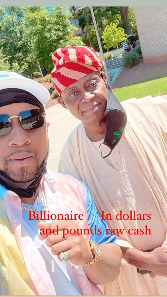 B-Red's Father, Senator Ademola Adeleke Bags Degree In American University [Photos/Video] 6