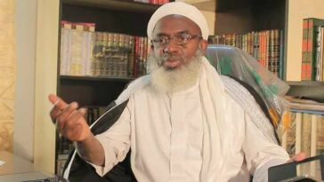 I Will Never Keep Quite If My Child Is Kidnapped, I'll Go And Lock Aso Rock – Sheikh Gumi 9