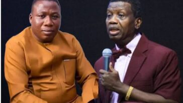 """God Will Kill His Entire Family"" - Sunday Igboho Mocks Pastor Adeboye Over Son's Death [Video] 11"