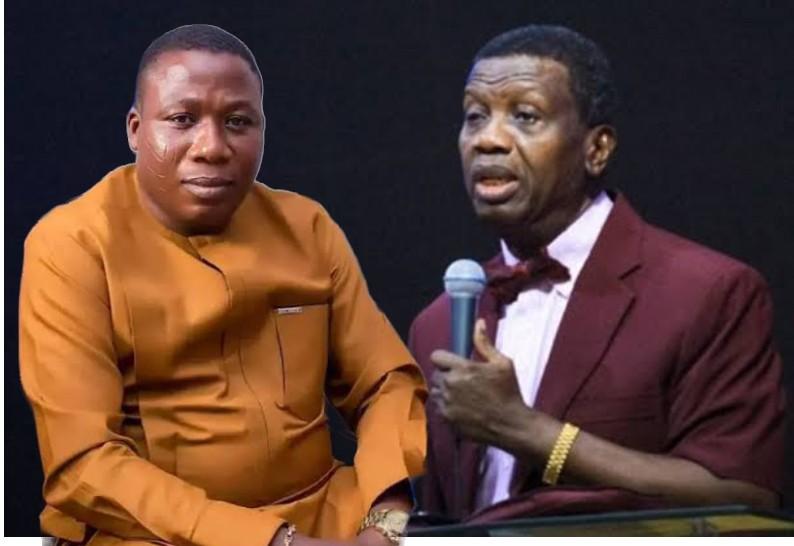 """God Will Kill His Entire Family"" - Sunday Igboho Mocks Pastor Adeboye Over Son's Death [Video] 1"