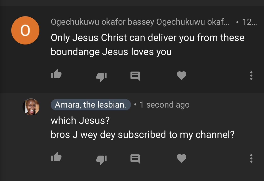 Nigerian Lesbian, Amara Attacks 'Demonic Christians' Who Are Praying & Shaming Her Sexuality 5