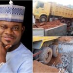 Kogi Bridge Constructed By Governor Yahaya Bello Collapses Just A Week After Completion 27