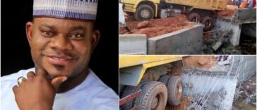 Kogi Bridge Constructed By Governor Yahaya Bello Collapses Just A Week After Completion 26