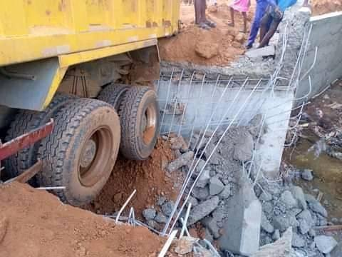 Kogi Bridge Constructed By Governor Yahaya Bello Collapses Just A Week After Completion 3