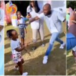 Davido Scolds His 4-Year-Old Daughter, Hailey For Twerking At Her Birthday Party In US [Video] 27