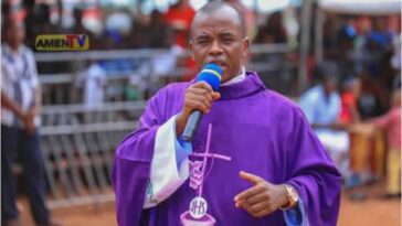 Father Mbaka Apologises To Catholic Church, Bishop Callistus Onaga Of Enugu Diocese 9