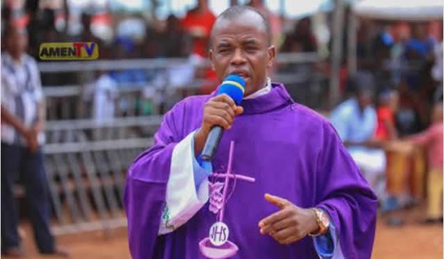 Father Mbaka Apologises To Catholic Church, Bishop Callistus Onaga Of Enugu Diocese 1