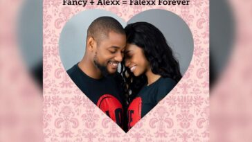 Alex Ekubo and Fiancee Fancy Acholonu Announce Their Wedding Dates!!!! 9