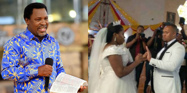 Prophet TB Joshua's Daughter Gets Married To The Same Man For The Third Time 1