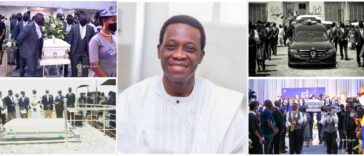 Pastor Adeboye Buries His 42-Year-Old Son, Dare Adeboye Amid Tears [Photos] 24
