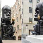 Outrage As Sanford Biggers Unveils 25-Foot Statue In New York City To Honor African Culture 28