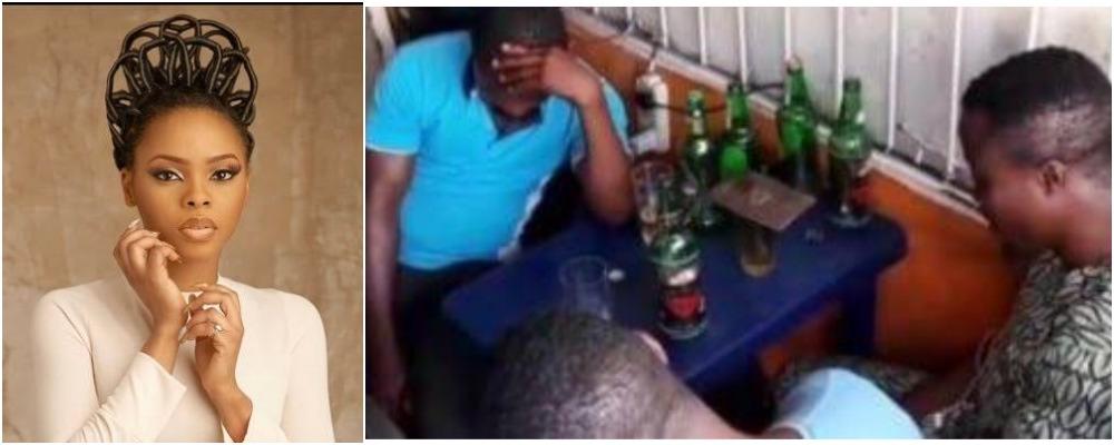 Nigerian Singer, Chidinma Ekile Storms Beer Parlour To Preach The Gospel Of God [Video] 1