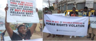Actor Yomi Fabiyi, Others Protest At Panti Police Station Over Baba Ijesha's Detention [Video] 26