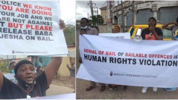 Actor Yomi Fabiyi, Others Protest At Panti Police Station Over Baba Ijesha's Detention [Video] 13