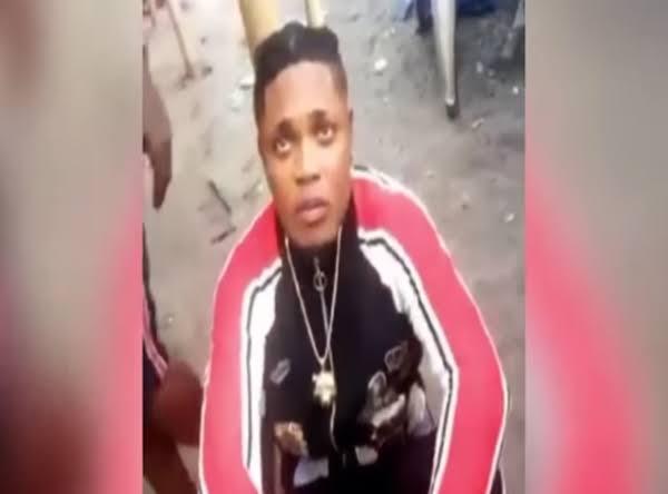 Popular Instagram Celebrity, Obibi Maro Caught Sodomising A 7-Year-Old Boy In Delta 1