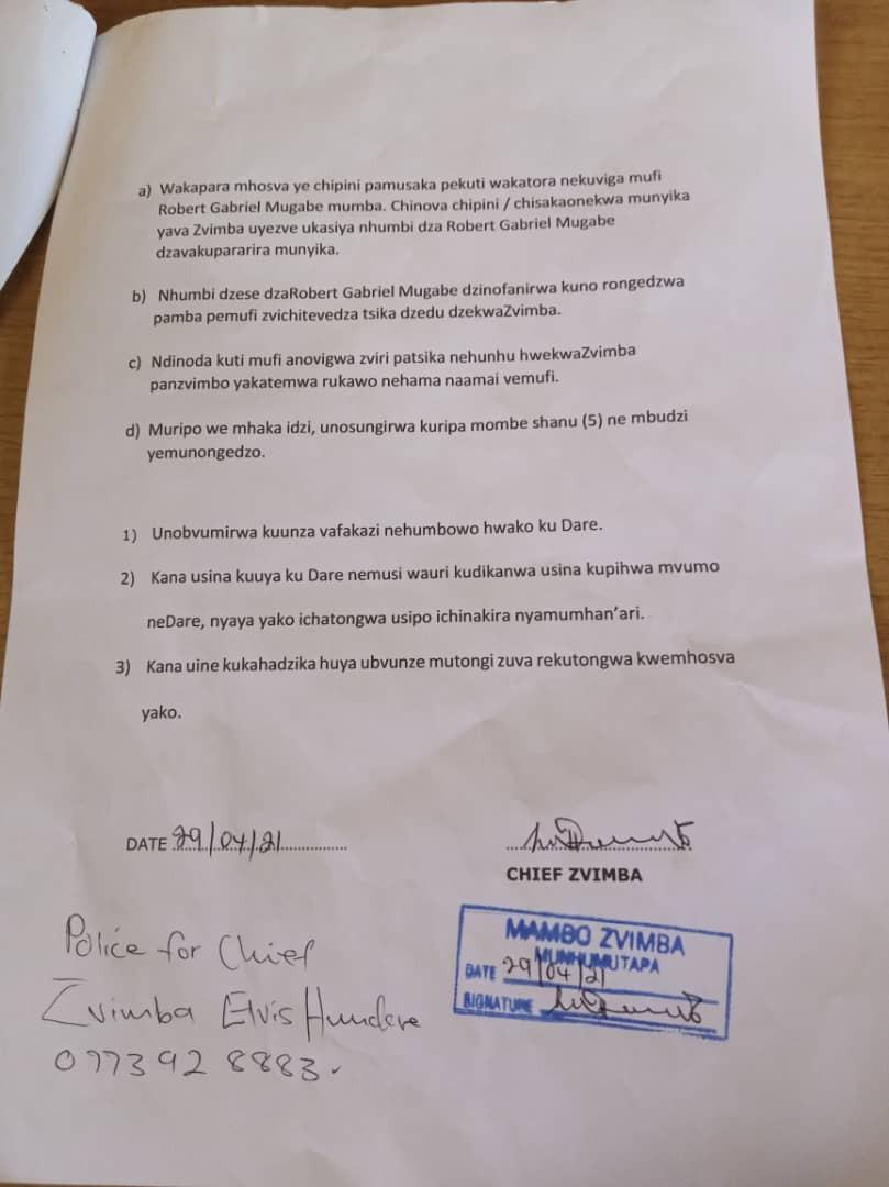 Grace Mugabe Summoned Before Court For 'Improperly' Burying Late Robert Mugabe 3