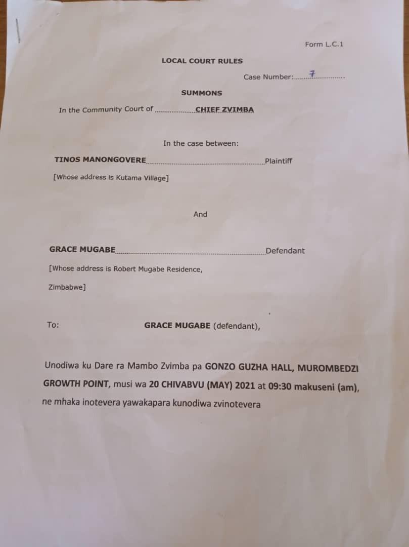 Grace Mugabe Summoned Before Court For 'Improperly' Burying Late Robert Mugabe 2