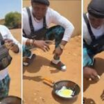 Man Uses Direct Heat From Sunlight To Fry Egg In Sudan [Video] 31