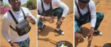 Man Uses Direct Heat From Sunlight To Fry Egg In Sudan [Video] 26