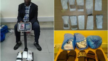Former LG Vice Chairman Arrested With Cocaine Hidden In Pairs Of Slippers At Lagos Airport 17