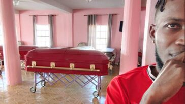 """""""Don't Drink And Drive, We Have Your Size"""" – Coffin Seller Warns As He Advertises His Business 6"""