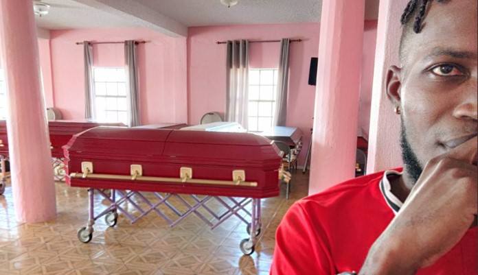 """""""Don't Drink And Drive, We Have Your Size"""" – Coffin Seller Warns As He Advertises His Business 1"""