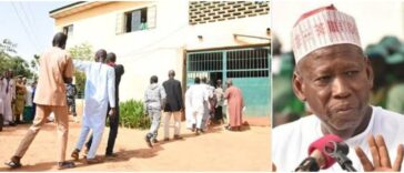 Governor Ganduje Frees 123 Prisoners In Kano, Gives Them N5000 Each As Transport Fare 25