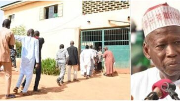Governor Ganduje Frees 123 Prisoners In Kano, Gives Them N5000 Each As Transport Fare 9
