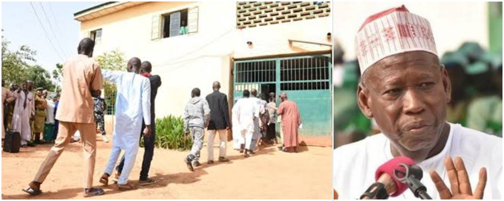 Governor Ganduje Frees 123 Prisoners In Kano, Gives Them N5000 Each As Transport Fare 1