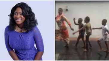 Nollywood Actress, Mercy Johnson Spotted Playing With Her Children Under The Rain [Video] 11