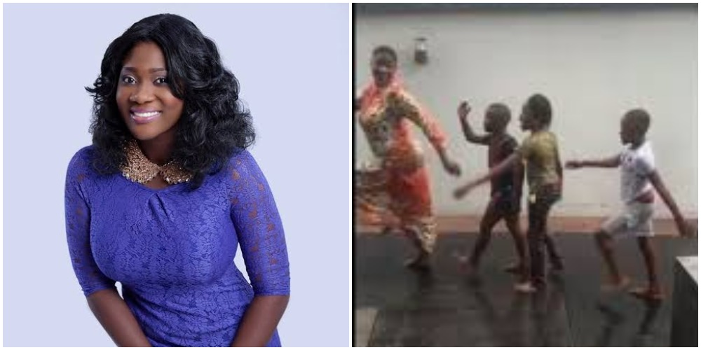 Nollywood Actress, Mercy Johnson Spotted Playing With Her Children Under The Rain [Video] 1
