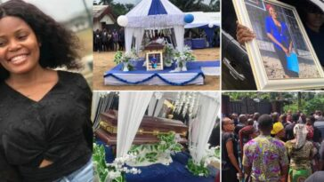 Burial Of Akwa Ibom Job Seeker, Iniubong Umoren Who Was Raped And Killed By Uduak Akpan 11
