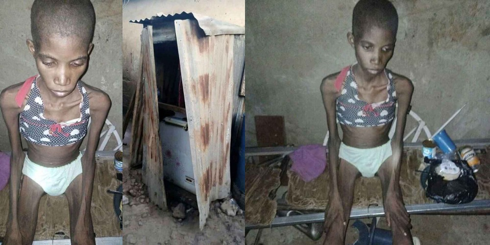 Police Rescues 12-Year-Old Girl Who Was Caged And Starved For 8 Month In Sokoto 1
