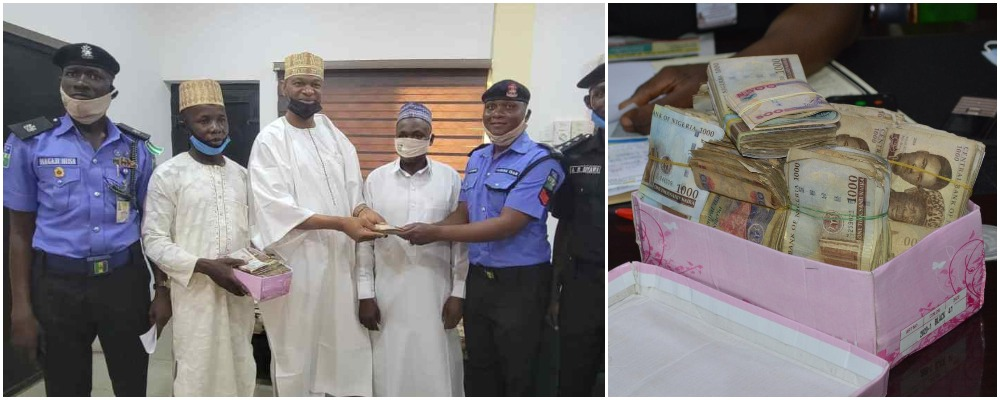Police Sergeant Rewarded After Returning N1.2 Million Found At Accident Scene In Kano 1