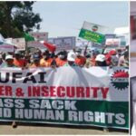 NLC Shuts Down Kaduna With 'Hell Rufai' Banner As They Protest Against Governor El-Rufai 9