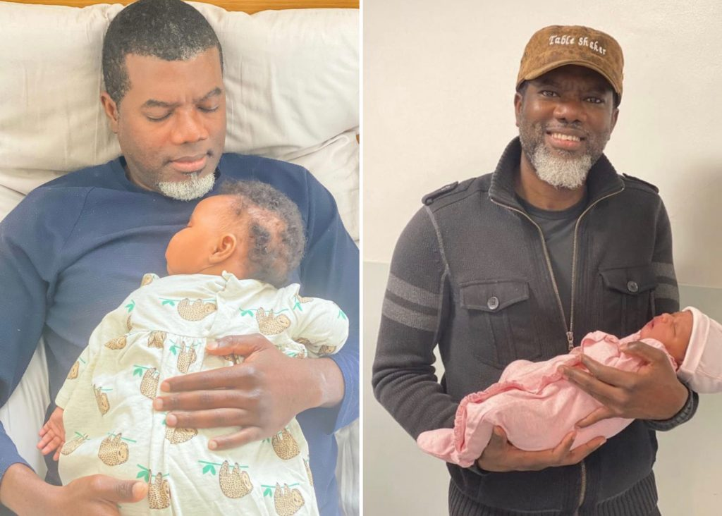 Reno Omokri Abandons Wife In America, Welcomes New Baby With UK Based Lover 1