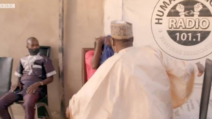 Controversy As Ordinary President, Ahmad Isah Slaps Woman Who 'Set Child On Fire' [Video] 1