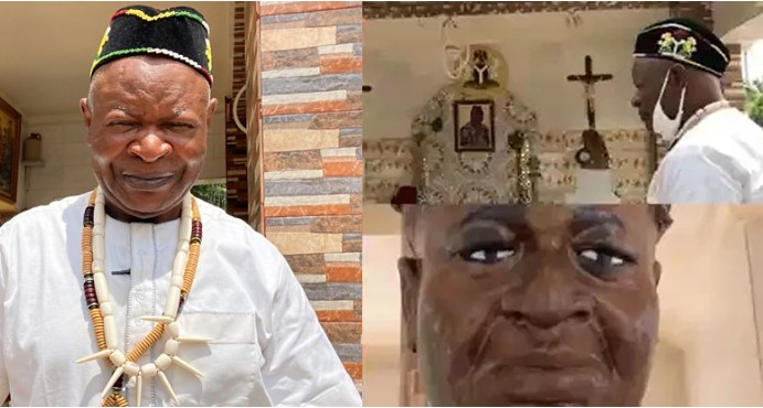 Nigerian Man Builds His Own Grave, Writes Will And Celebrates Burial Before Death [Video] 1