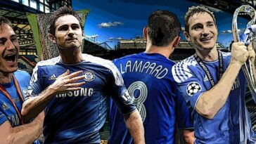 Chelsea Legend, Frank Lampard Has Been Inducted Into Premier League Hall Of Fame 11