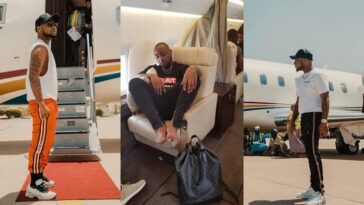 """""""You Ain't Getting On The Jet No More"""" - Davido Bans Crew From Boarding His Private Jet [Video] 7"""