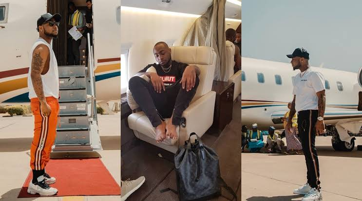 """""""You Ain't Getting On The Jet No More"""" - Davido Bans Crew From Boarding His Private Jet [Video] 1"""
