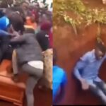 Family Members Engages In Serious Fight During Burial Of Their Loved One [Video] 3