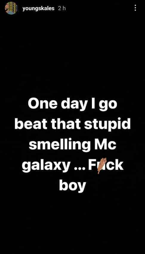 """""""Tell Me When You're Ready To Fight"""" - MC Galaxy Replies After Skales Threatened To Beat Him 2"""