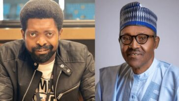 """""""Angry Nigerians Are Giving Buhari Excuse To Stay In Power Beyond 2023"""" - Basket Mouth [Video] 6"""
