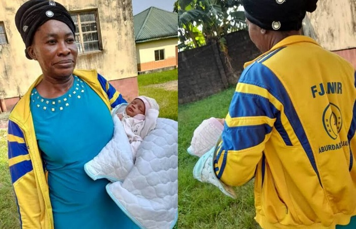 NIS Arrests Suspected Child Trafficker With Five-Day-Old Baby In Calabar 1
