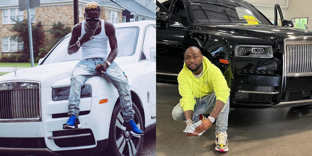 """""""I Don't Use My Father's Money For Hype"""" - Shatta Wale Shades Davido Over New Rolls Royce 1"""