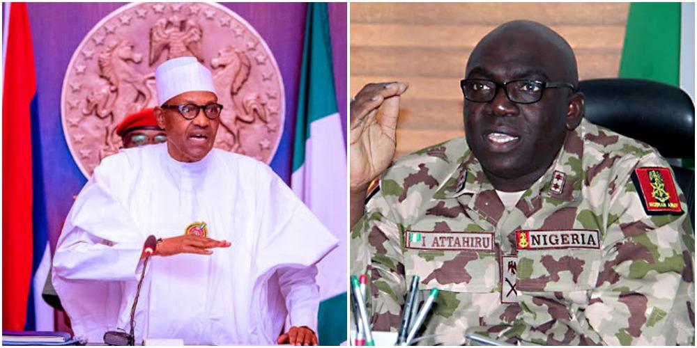 Buhari Mourns As Chief Of Army Staff Ibrahim Attahiru, 10 Others Die In Kaduna Plane Crash 1