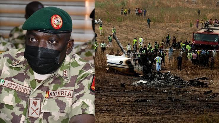 Watch Video Of Plane Crash That Killed Army Chief Ibrahim Attahiru, 11 Others In Kaduna 1